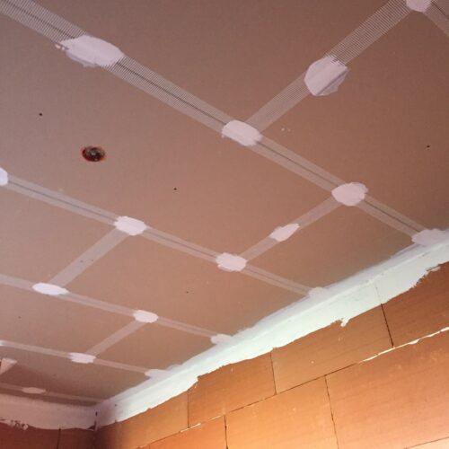 Pose de plafonds à enduire à Bressuire
