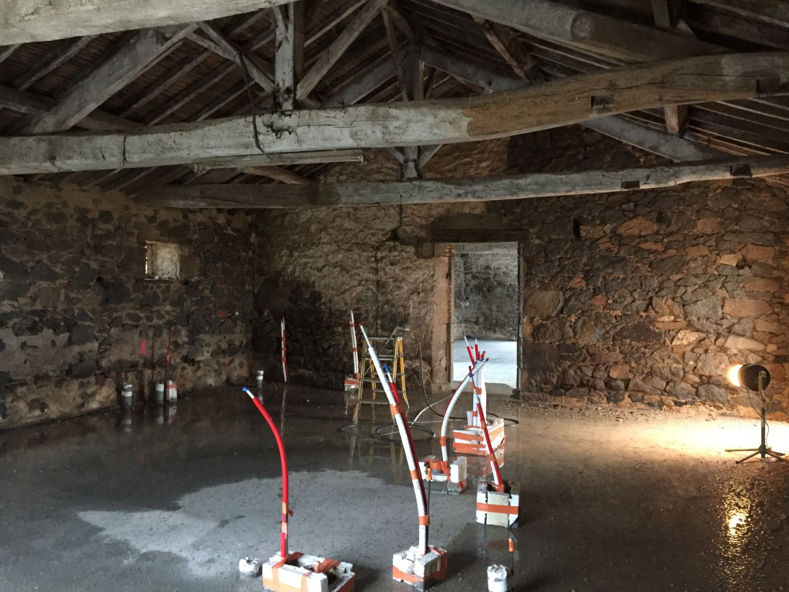 Sarl bossard renovation d 39 une grange en maison d 39 habitation - Rehabilitation d une grange en habitation ...